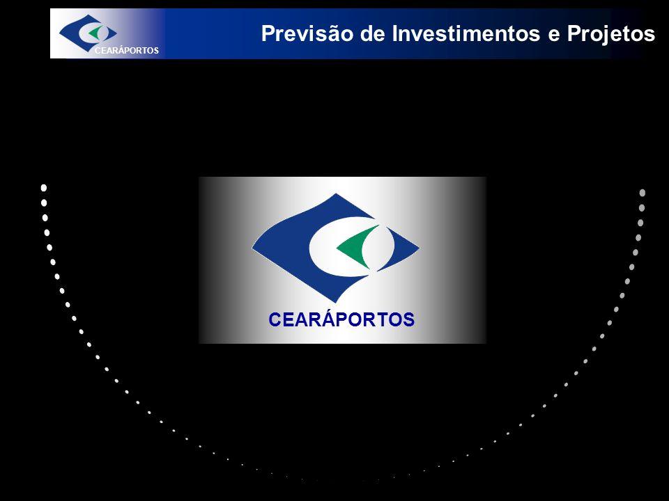 Previsão de Investimentos e Projetos CEARÁPORTOS