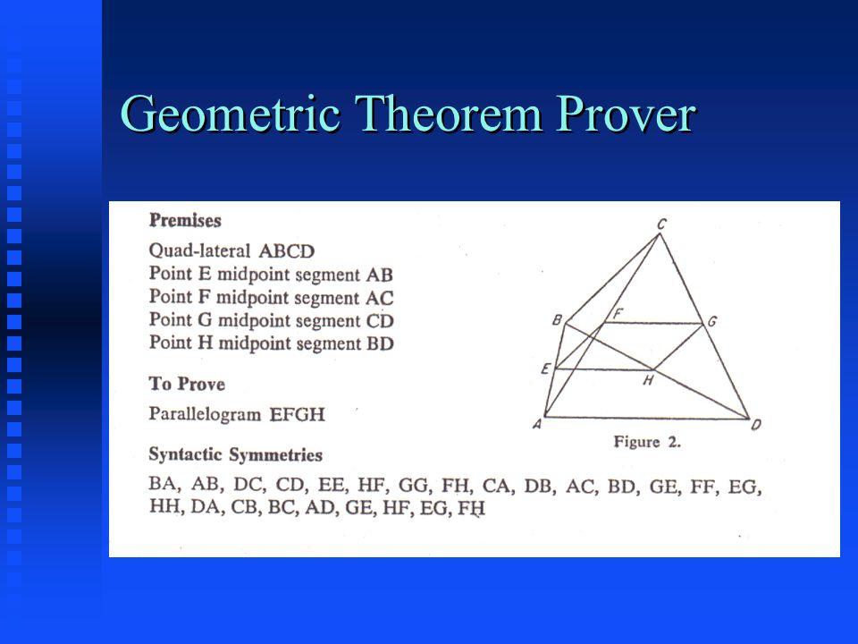 Geometric Theorem Prover