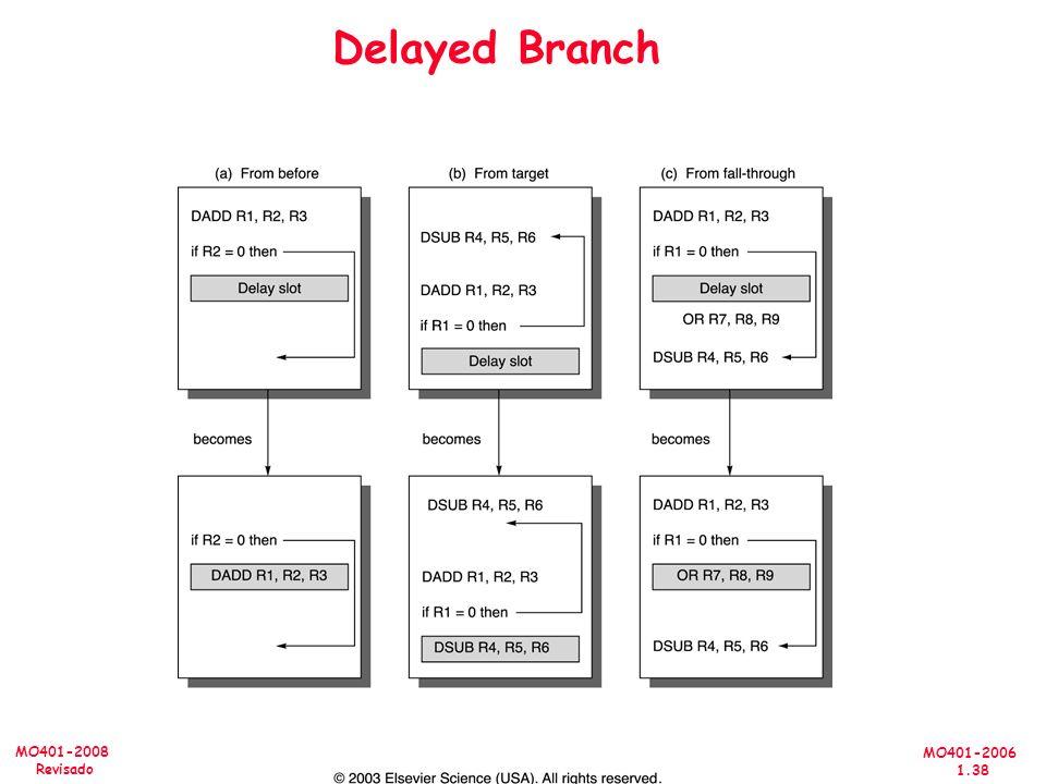 MO401-2006 1.38 MO401-2008 Revisado Delayed Branch