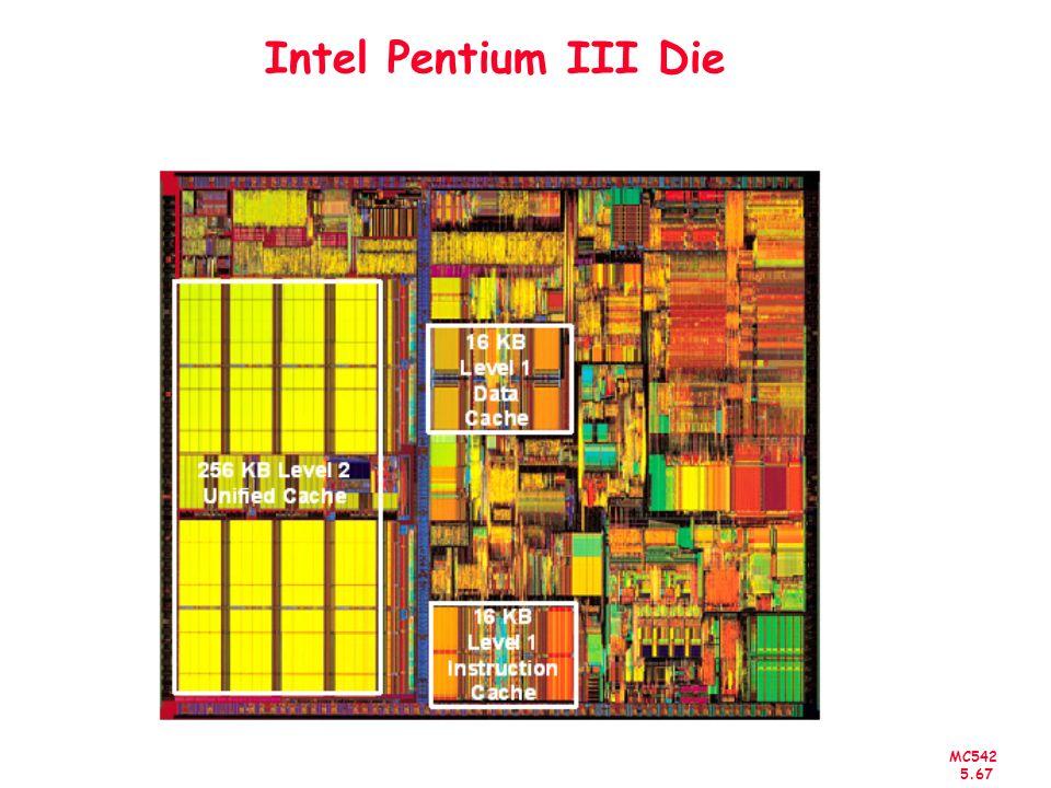 MC542 5.67 Intel Pentium III Die