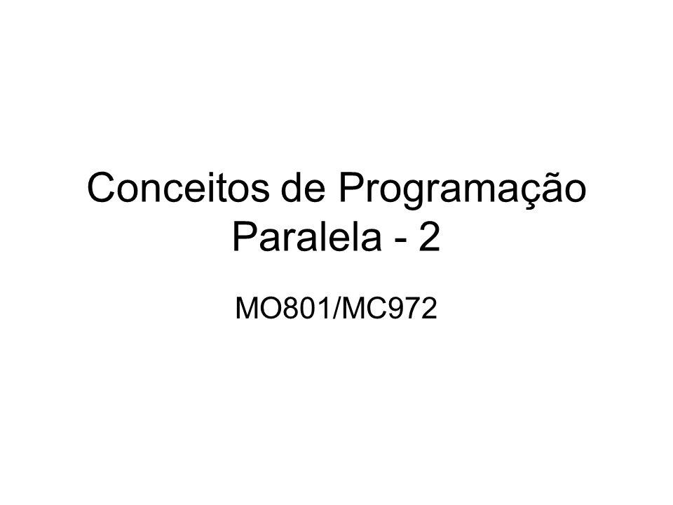 Conceitos de Programação Paralela - 2 MO801/MC972