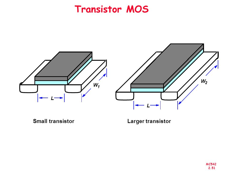 MC542 2.51 Transistor MOS