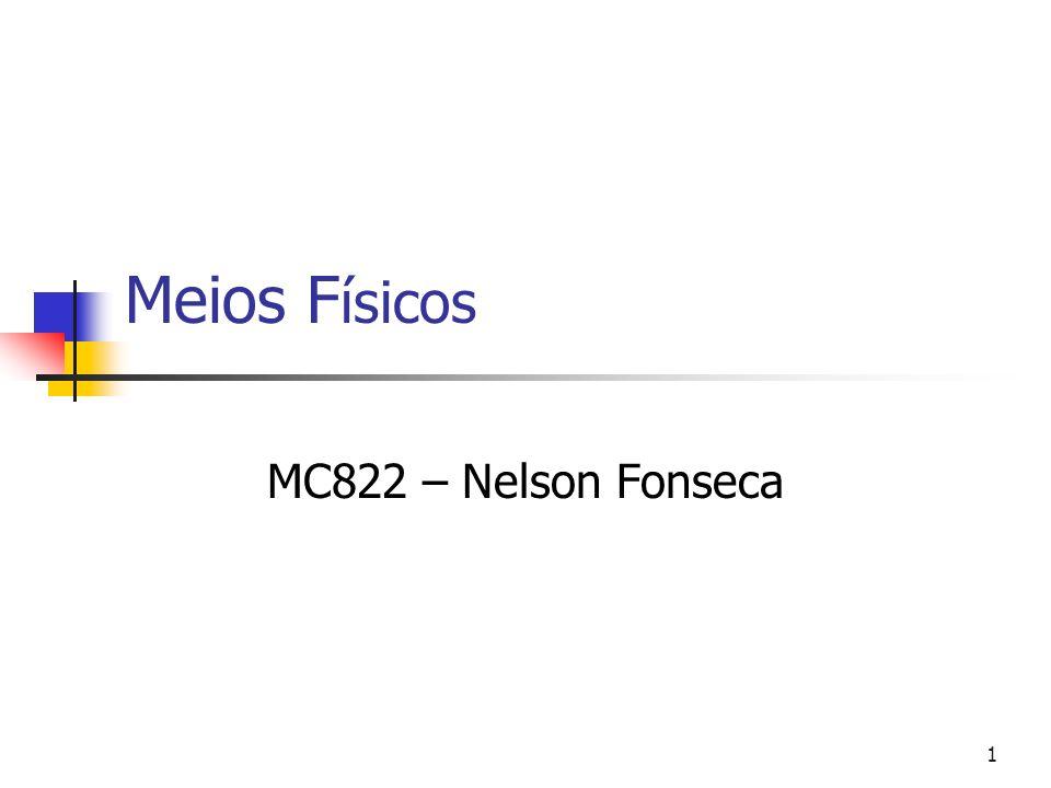 1 Meios F ísicos MC822 – Nelson Fonseca