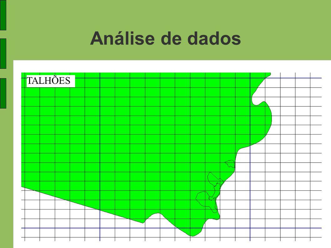 Análise de dados TALHÕES
