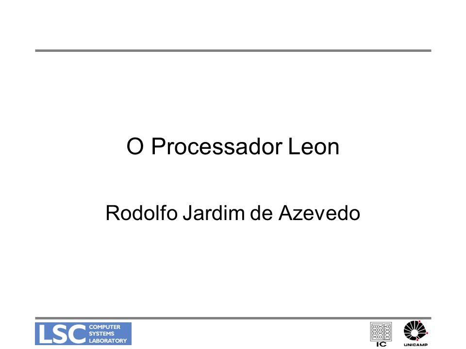 O Processador Leon Rodolfo Jardim de Azevedo