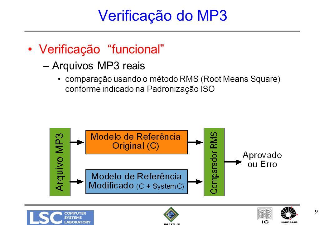 10 Verificação do MP3