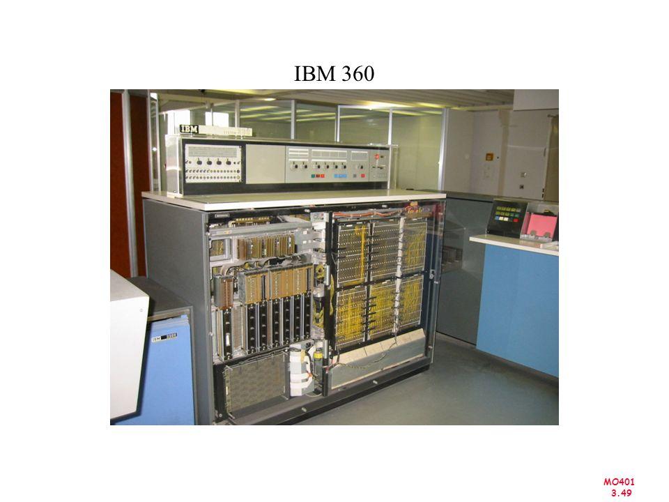MO401 3.49 IBM 360