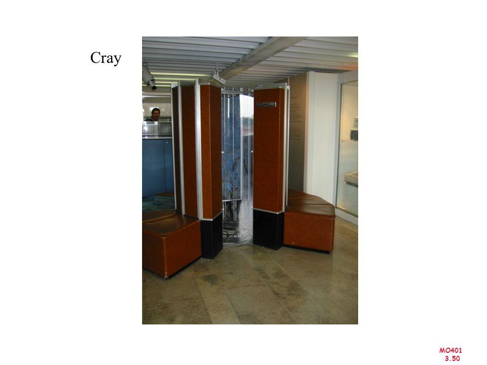 MO401 3.50 Cray
