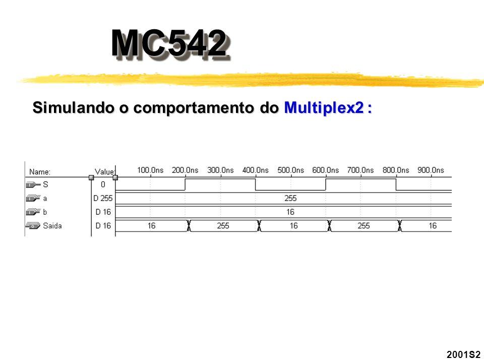 MC542MC542 2001S2 Simulando o comportamento do Multiplex2 :