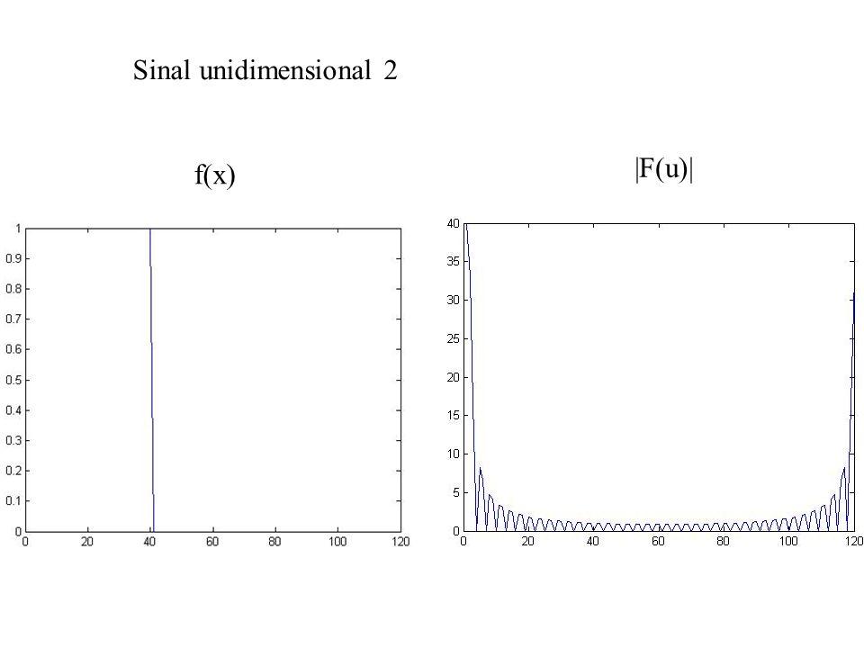 Exemplo: filtragem com extensão (padding) f F H