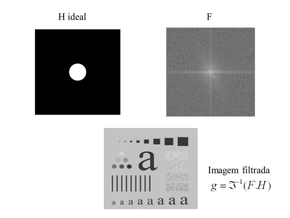 H idealF Imagem filtrada