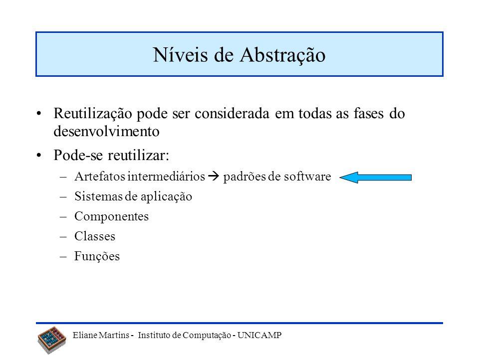 Eliane Martins - Instituto de Computação - UNICAMP Qualquer procedimento que produza (ou ajude a produzir) um sistema tornando a utilizar algo desenvo