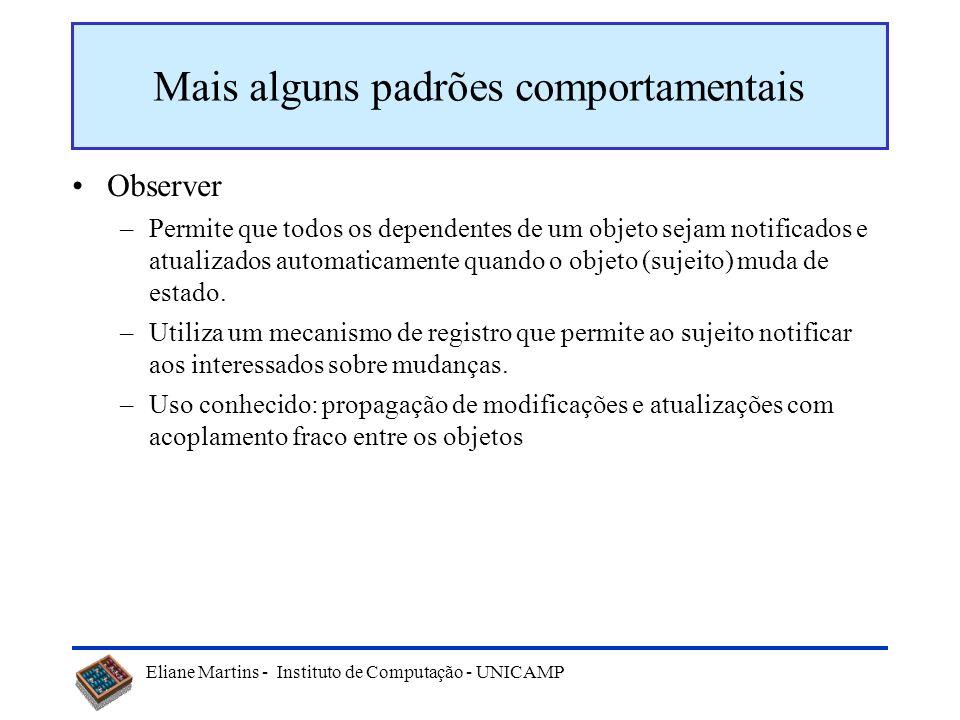 Eliane Martins - Instituto de Computação - UNICAMP Mediator MediadorColaborador Mediador_concreto Colaborador_concreto1Colaborador_concreto2 mediador