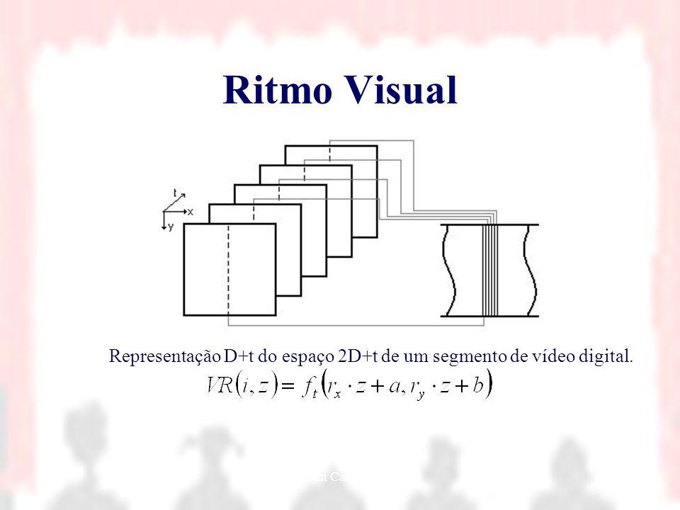 Nielsen Cassiano Simões14 Ritmo Visual Representação D+t do espaço 2D+t de um segmento de vídeo digital.