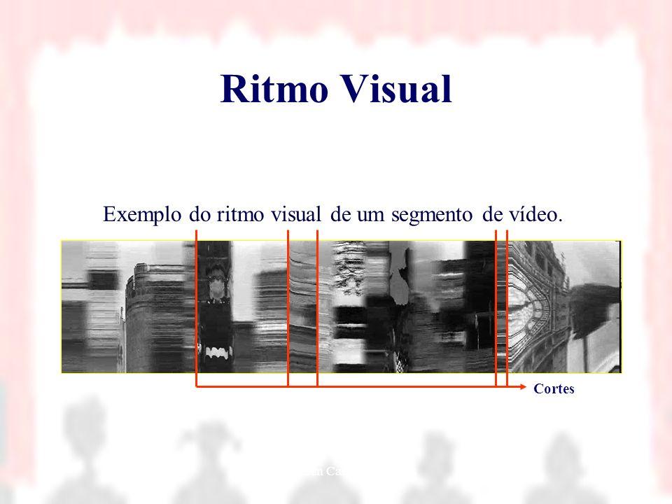Nielsen Cassiano Simões15 Ritmo Visual Exemplo do ritmo visual de um segmento de vídeo. Cortes