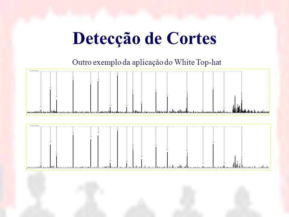 Nielsen Cassiano Simões22 Detecção de Cortes Outro exemplo da aplicação do White Top-hat