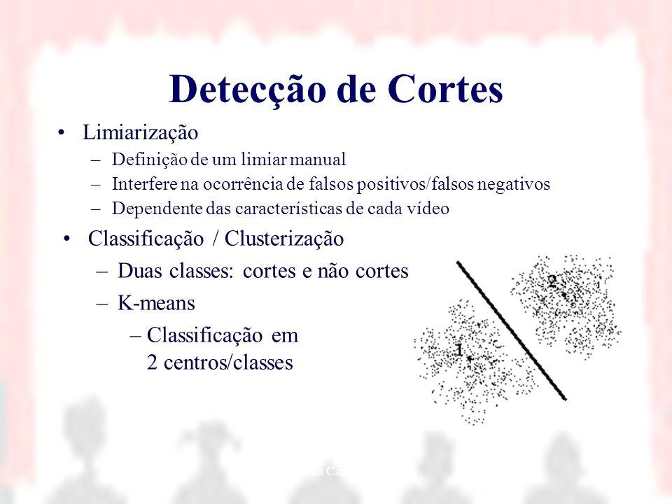 Nielsen Cassiano Simões23 Detecção de Cortes Limiarização –Definição de um limiar manual –Interfere na ocorrência de falsos positivos/falsos negativos