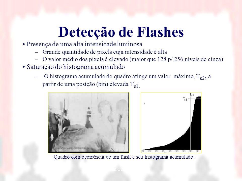 Nielsen Cassiano Simões29 Detecção de Flashes Presença de uma alta intensidade luminosa –Grande quantidade de pixels cuja intensidade é alta –O valor