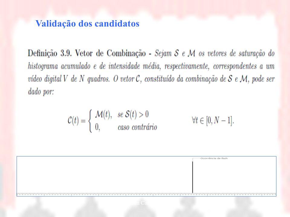 Nielsen Cassiano Simões32 Validação dos candidatos