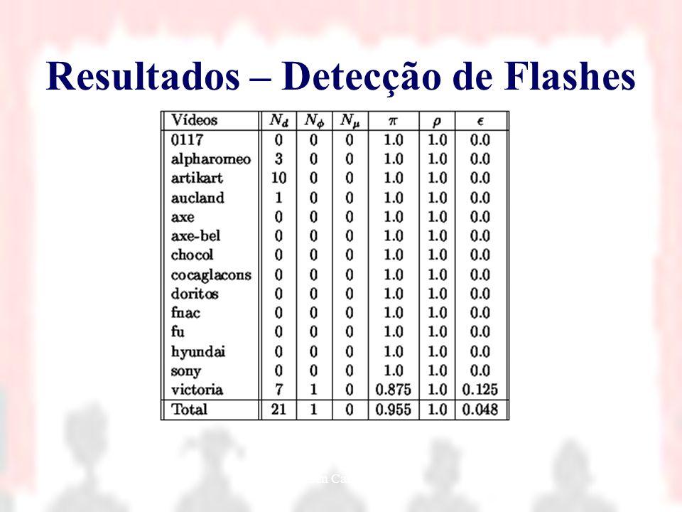 Nielsen Cassiano Simões42 Resultados – Detecção de Flashes