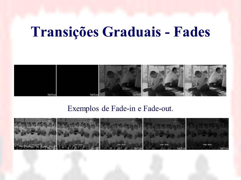 Nielsen Cassiano Simões9 Transições Graduais - Fades Exemplos de Fade-in e Fade-out.