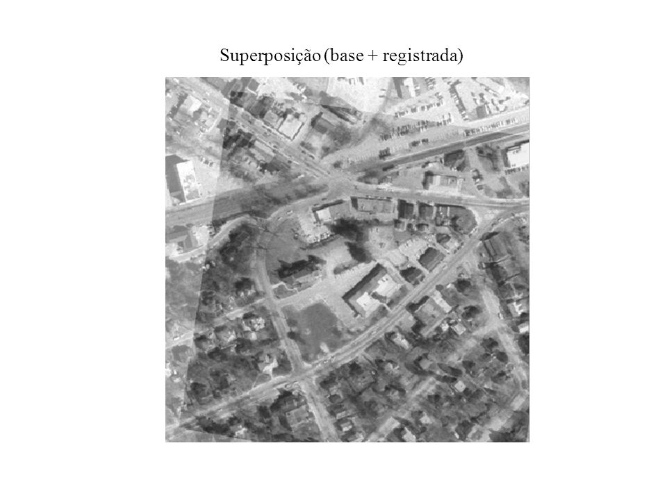 Superposição (base + registrada)