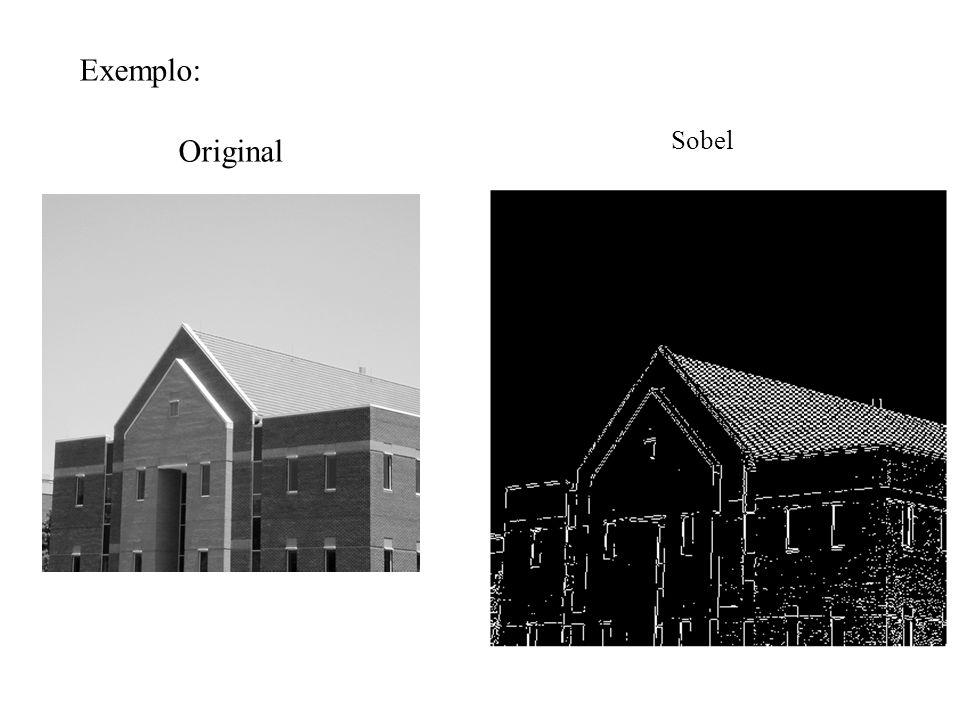 Exemplo: Original Sobel