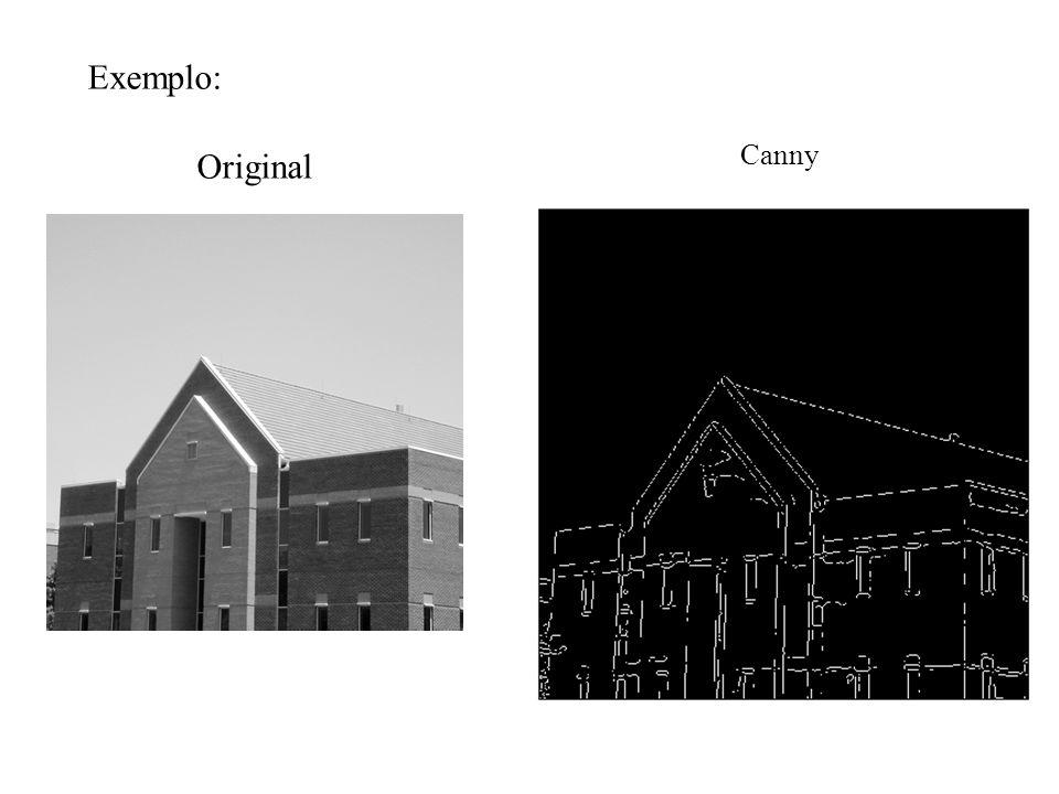 Exemplo: Original Canny
