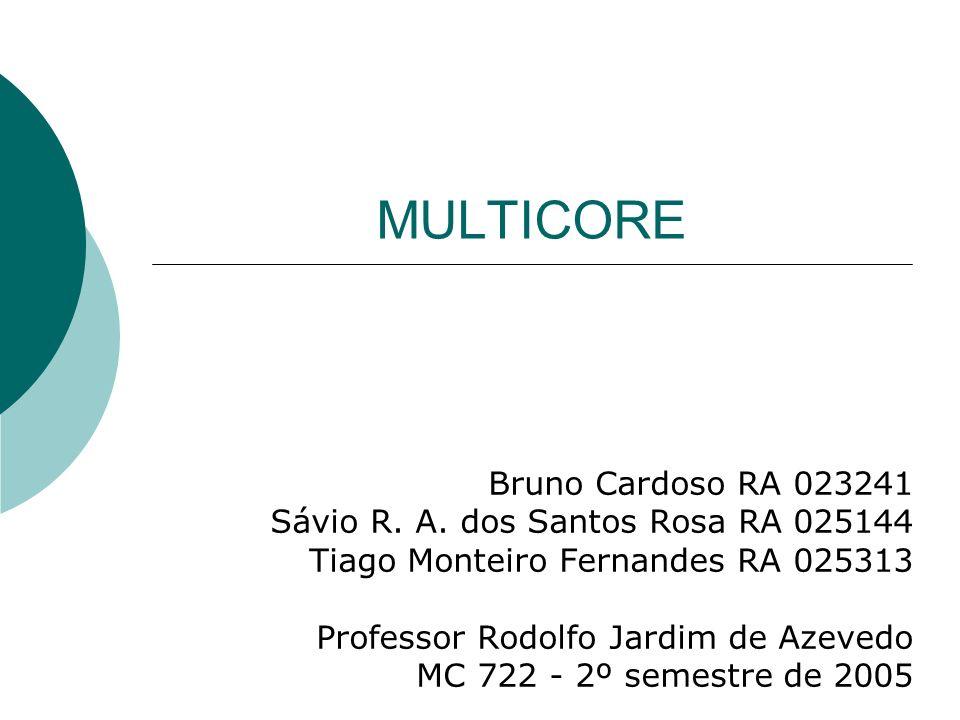 MULTICORE Bruno Cardoso RA 023241 Sávio R.A.