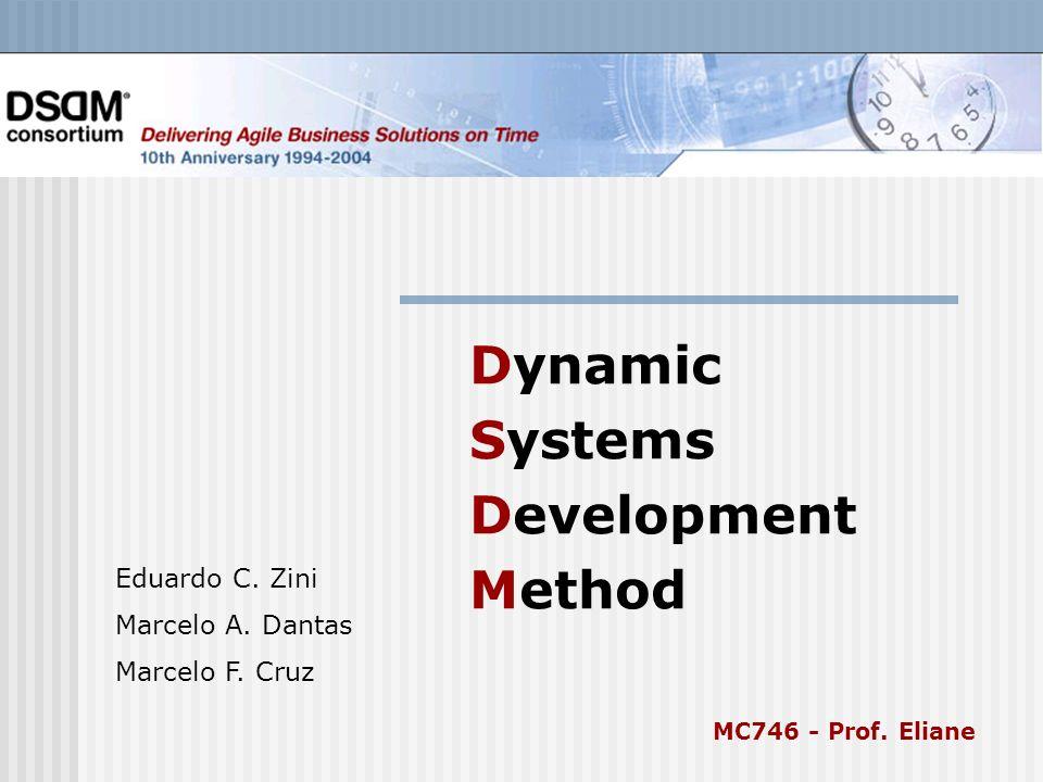Dynamic Systems Development Method Eduardo C.Zini Marcelo A.