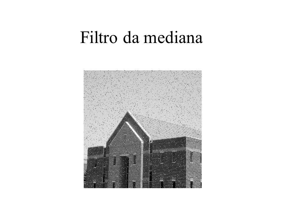 Original Filtragem da média 5x5 Ruído gaussiano (sigma 0.9)
