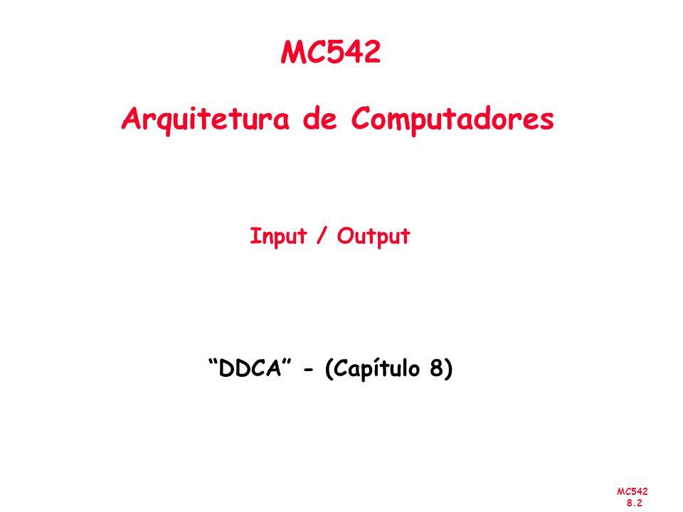MC542 8.3 Título do Capítulo Abordado Sumário