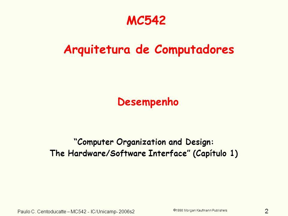 2 1998 Morgan Kaufmann Publishers Paulo C.