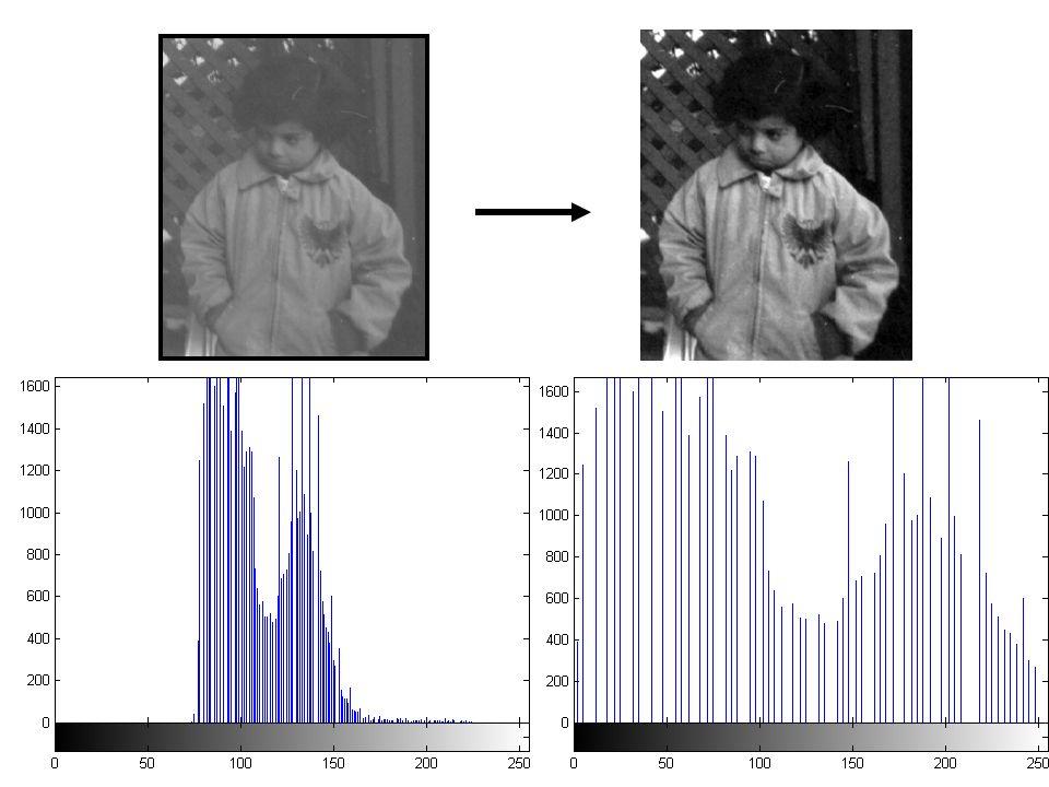 Equalização adaptativa - Imagem subdividida em nxn blocos - interpolação na vizinhança dos blocos