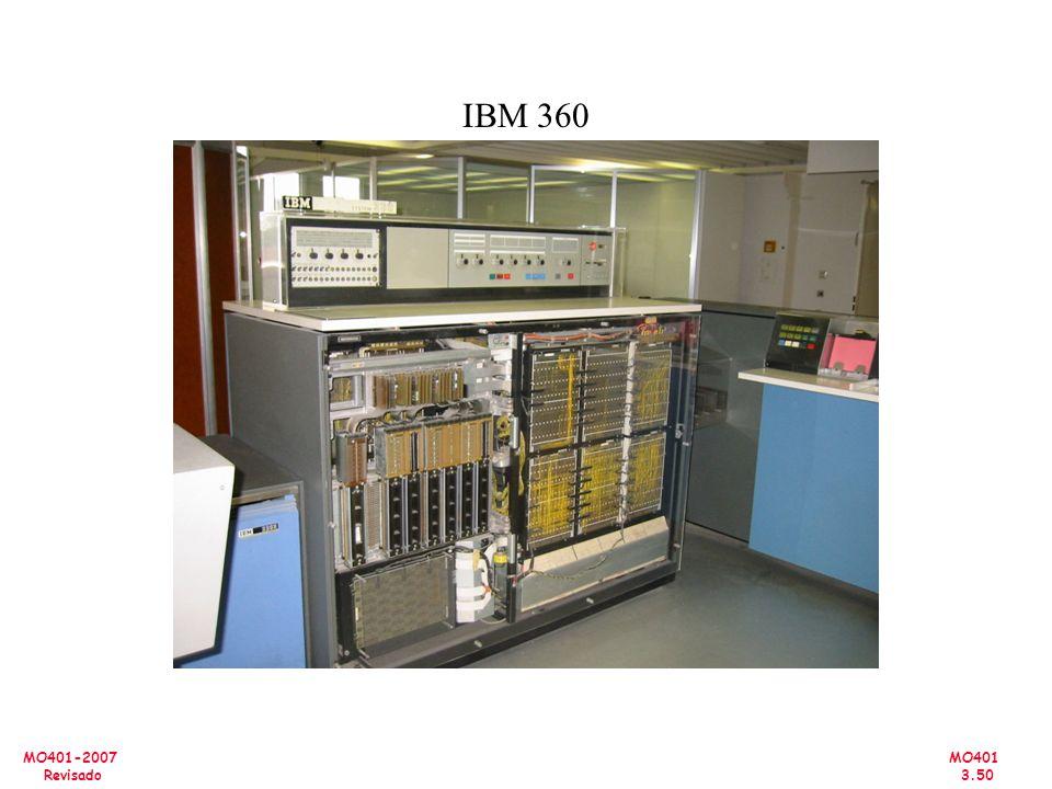 MO401 3.50 MO401-2007 Revisado IBM 360