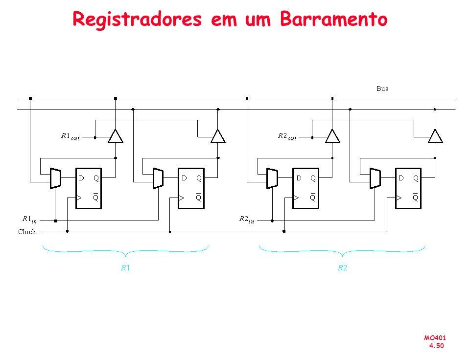 MO401 4.50 Registradores em um Barramento