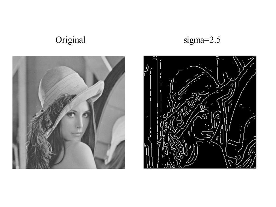Original sigma=2.5