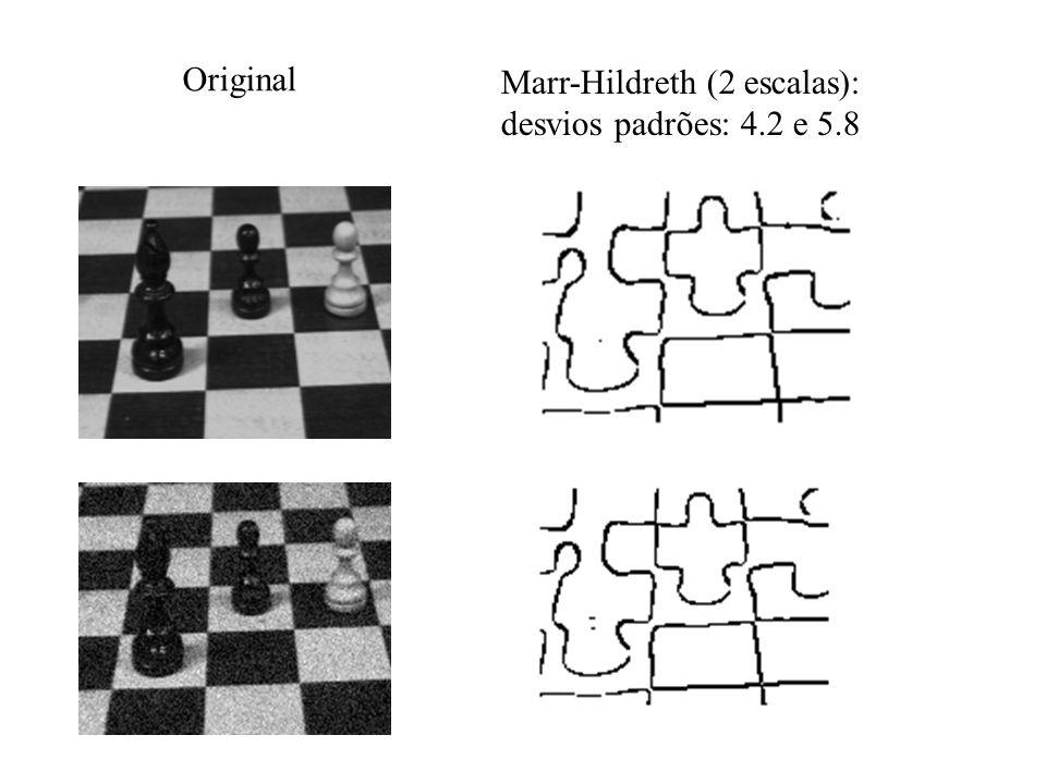 Original Marr-Hildreth (2 escalas): desvios padrões: 4.2 e 5.8