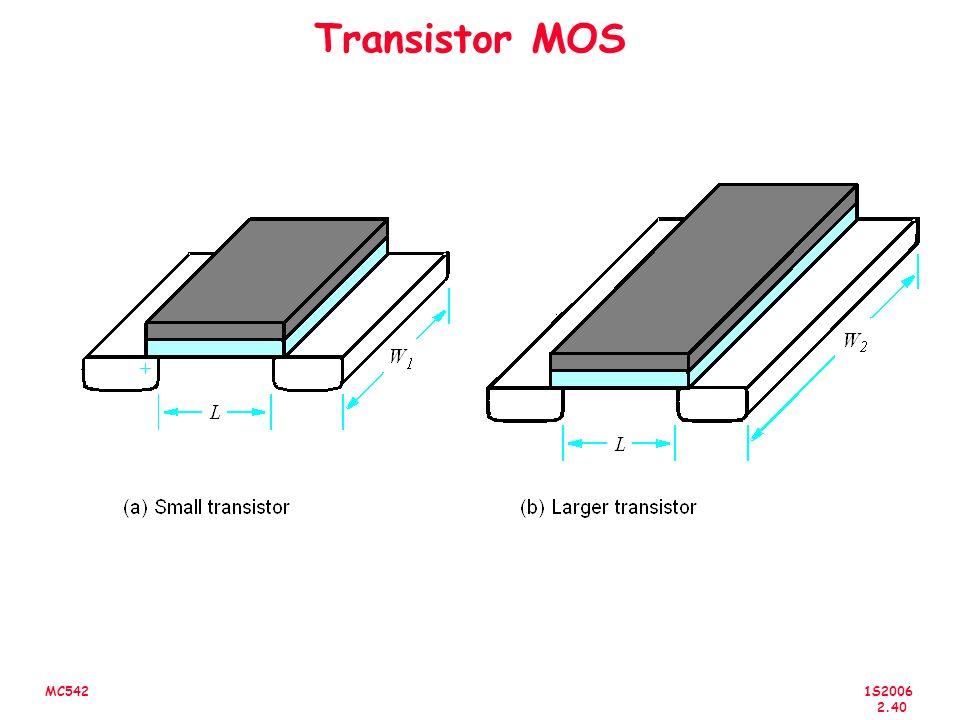 1S2006 2.40 MC542 Transistor MOS