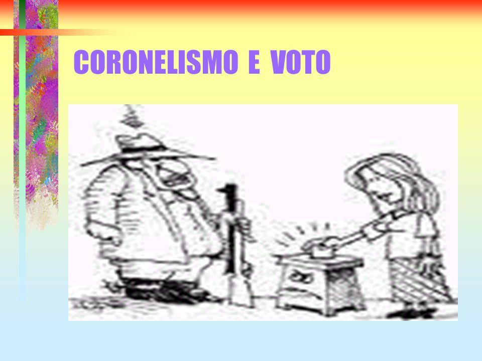 CORONELISMO E VOTO