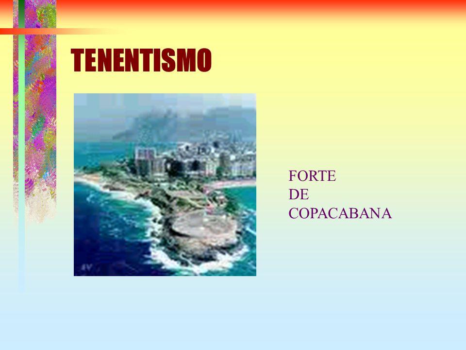 TENENTISMO FORTE DE COPACABANA