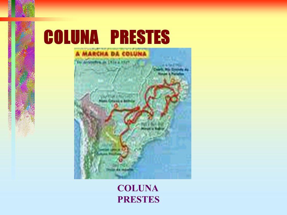 COLUNA PRESTES COLUNA PRESTES