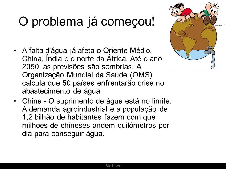 Ria Slides O problema já começou.