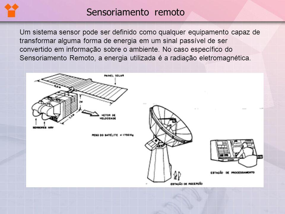 Um sistema sensor pode ser definido como qualquer equipamento capaz de transformar alguma forma de energia em um sinal passível de ser convertido em i