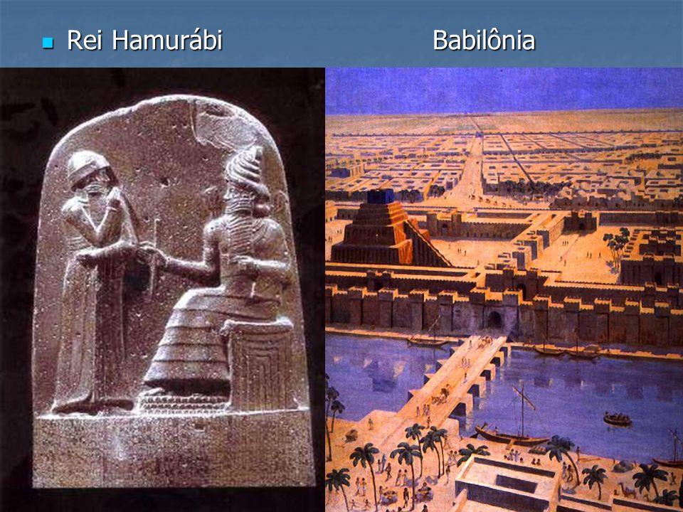 Rei Hamurábi Babilônia Rei Hamurábi Babilônia