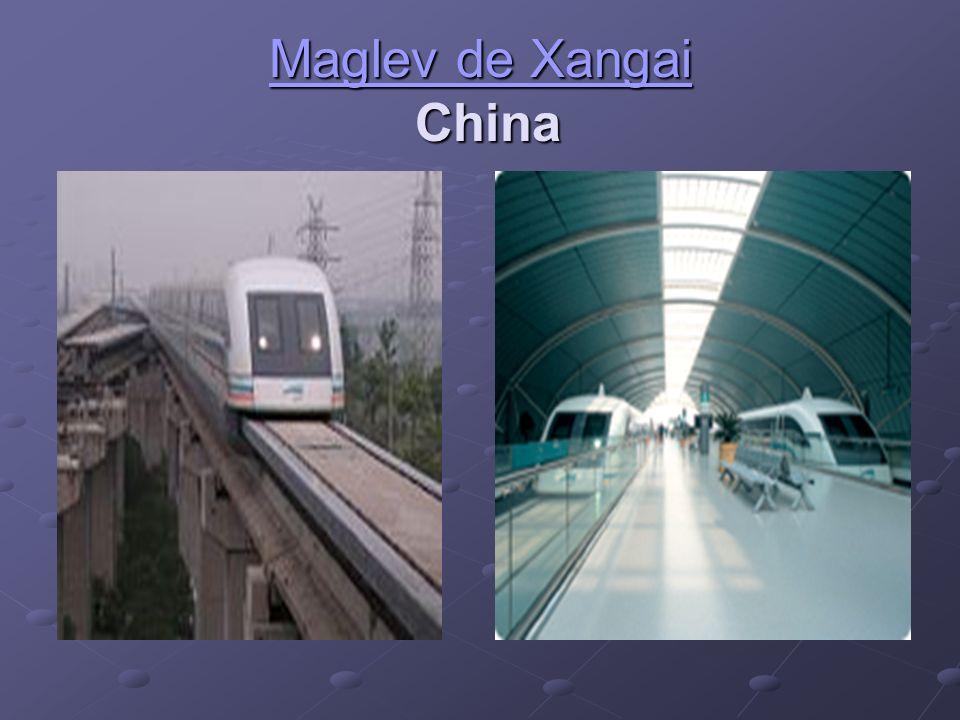 Maglev de Xangai Maglev de Xangai China Maglev de Xangai.