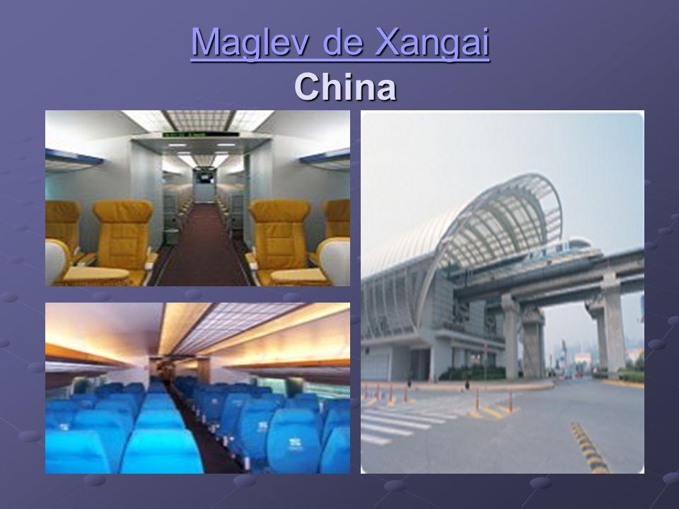 Maglev de Xangai Maglev de Xangai China Maglev de Xangai