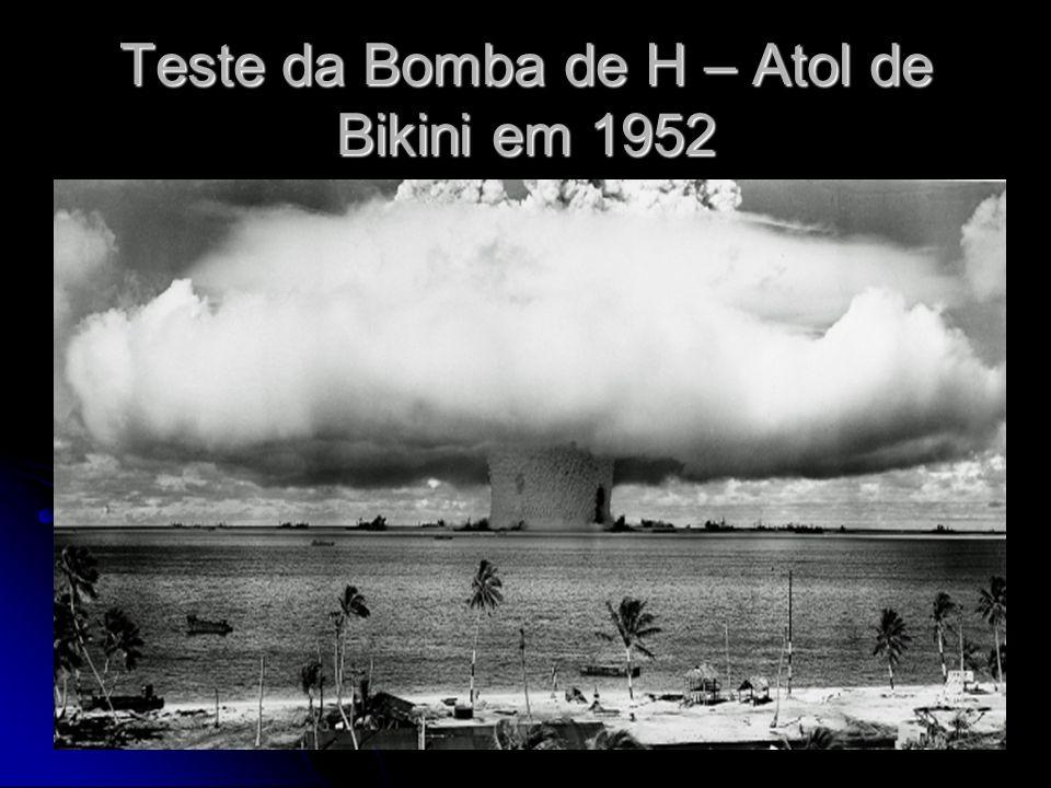 Teste da Bomba de H – Atol de Bikini em 1952