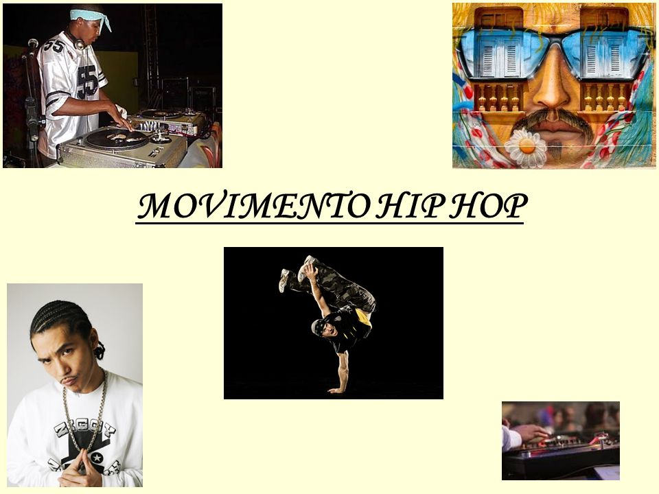 Introdução A expressão hip hop vem do inglês e significa movimentar os quadris.