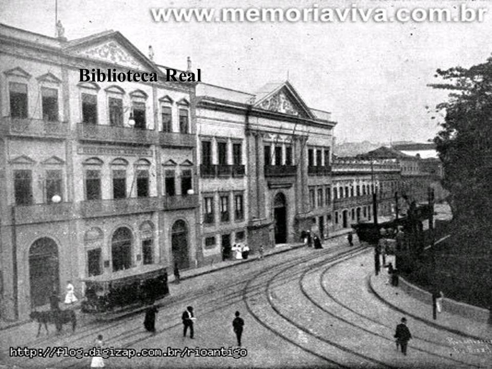 BRASIL COLÔNIA (1500 – 1822) O PROCESSO DE INDEPENDÊNCIA Biblioteca Real